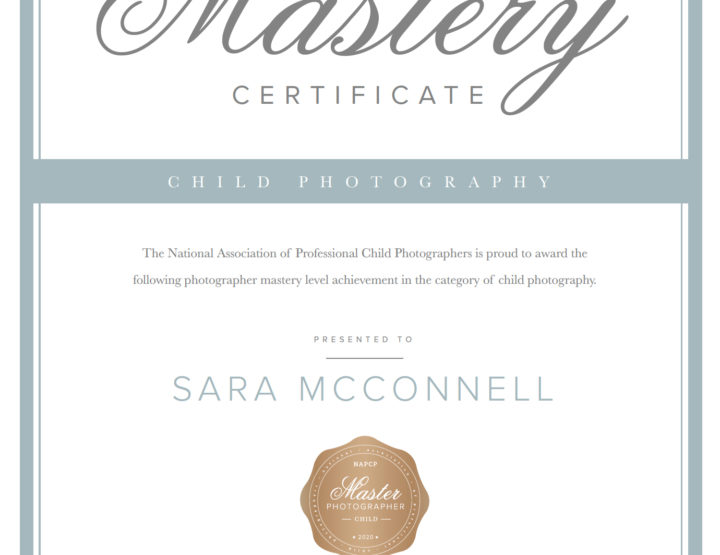 Master Photographer - Child Category