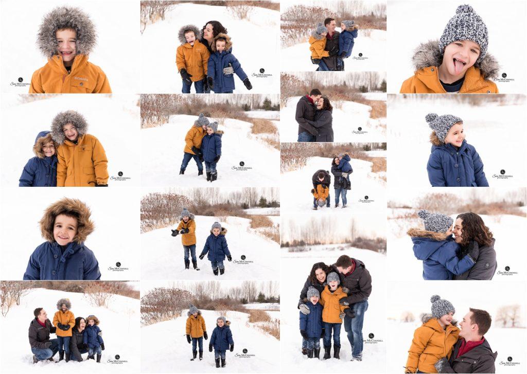 Ottawa winter photography session