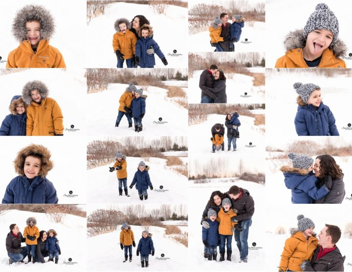 Ottawa Family Photographer | Fun in the snow