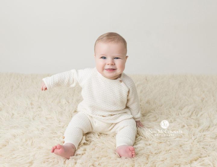 A half birthday session   Ottawa Baby Photographer