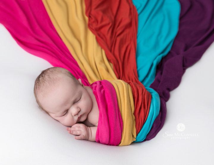 Bright Colours | Ottawa Newborn Photos