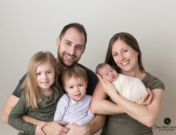 Family of Five   Ottawa Newborn Photographer