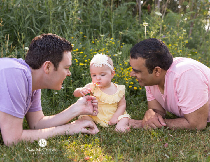 Playing In The Flowers | Ottawa Family Photographer