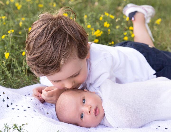 Baby Sister | Ottawa Newborn Photographer