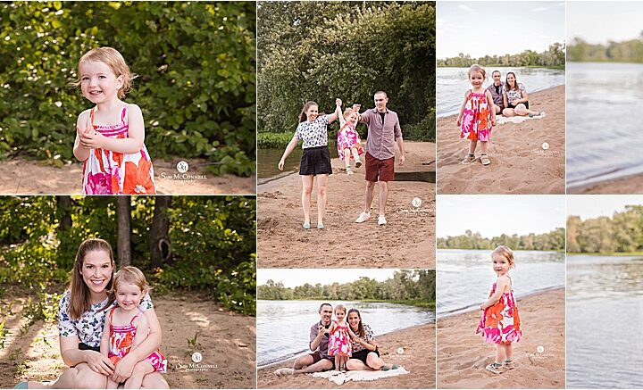 Summer Beach Sessions | Ottawa Family Photographer