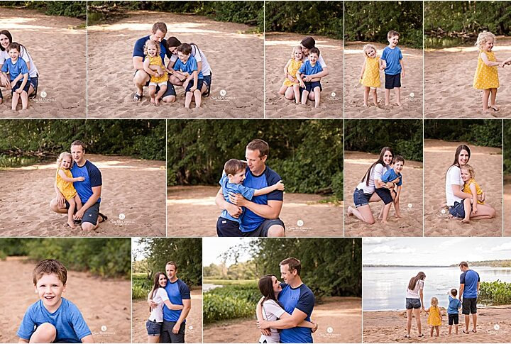 Playing in the sand | Ottawa Family Photographer