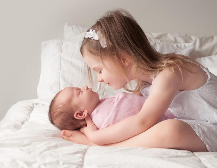 Virtual Newborn Session | Baby Girl