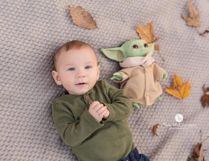 Baby Yoda | Ottawa Baby Photographer