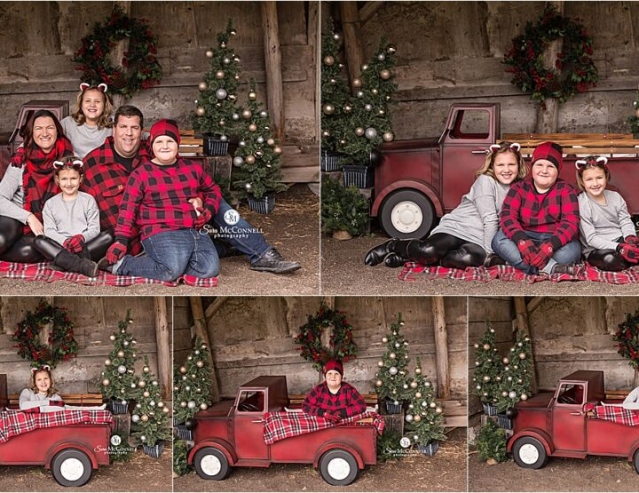 Festive Farm Christmas Sessions | Ottawa Photographer