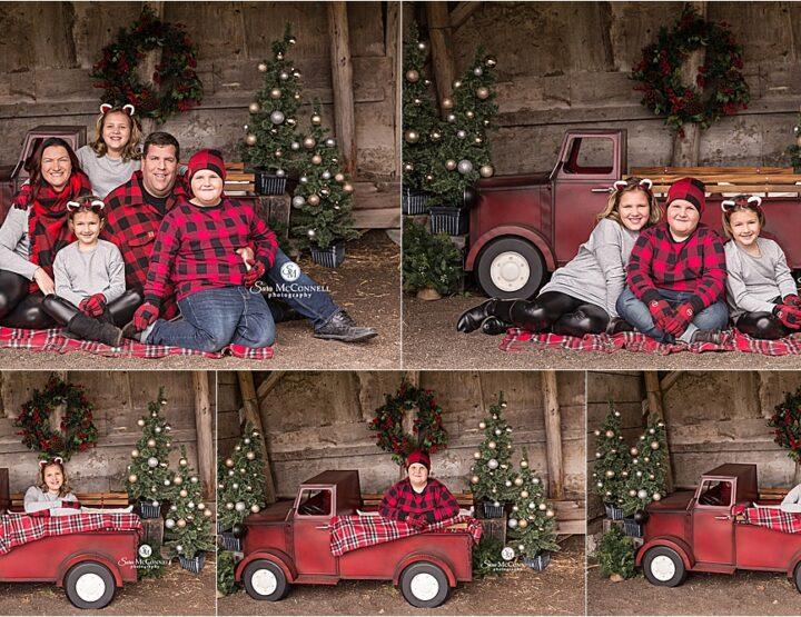Festive Farm Christmas Sessions | Ottawa Photographer