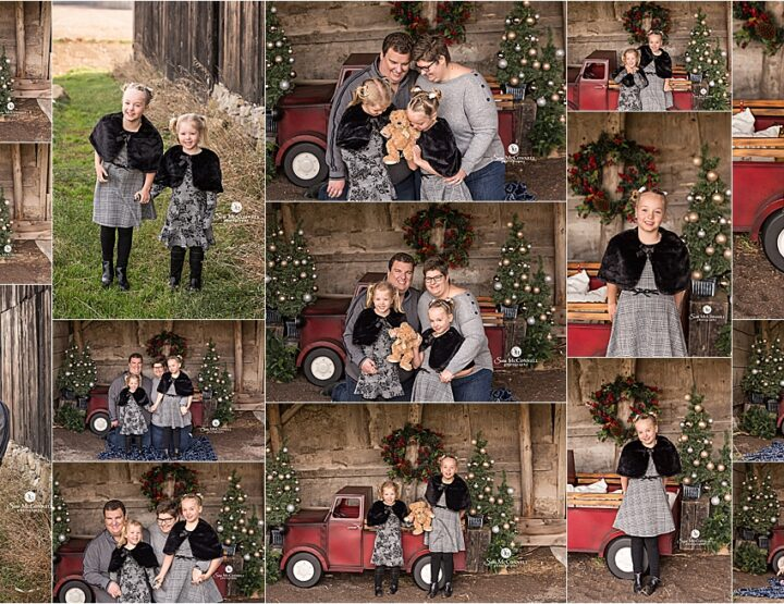 Festive Farm Holiday Sessions | Ottawa Photographer