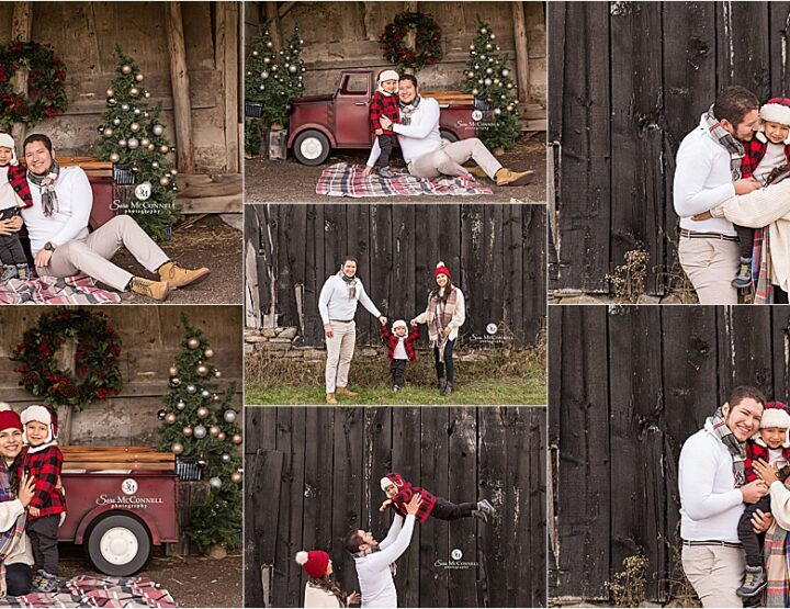 Christmas Truck | Ottawa Family Photographer
