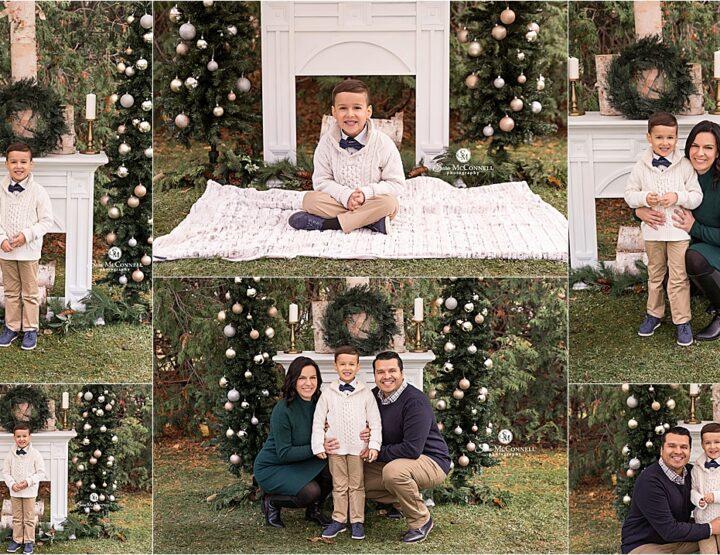 Festive Fireplace | Ottawa Family Photographer