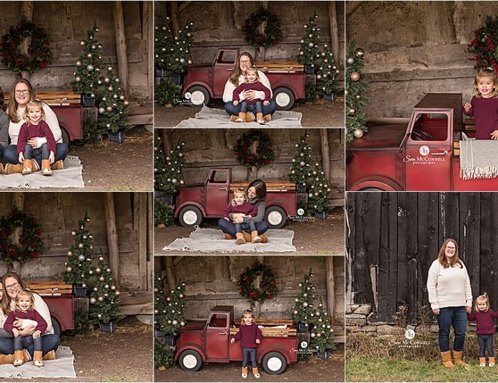 Ottawa Holiday Sessions at the Farm | Family Photographer
