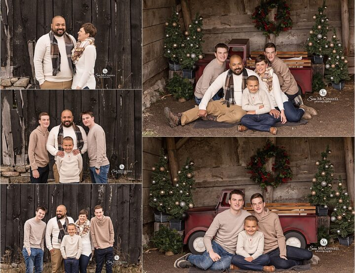Christmas Sessions At The Farm | Ottawa Photographer