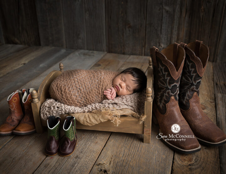 Cowboy Boots | Ottawa Newborn Photographer
