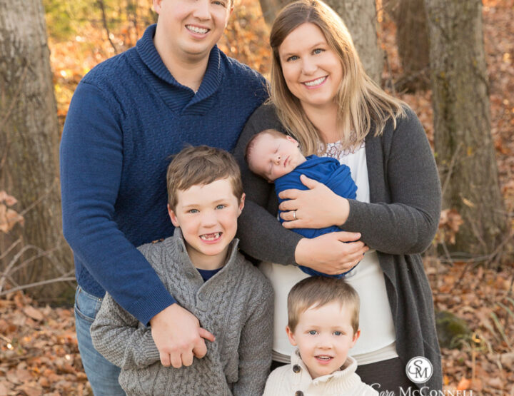 Family of Five | Ottawa Newborn Photographer
