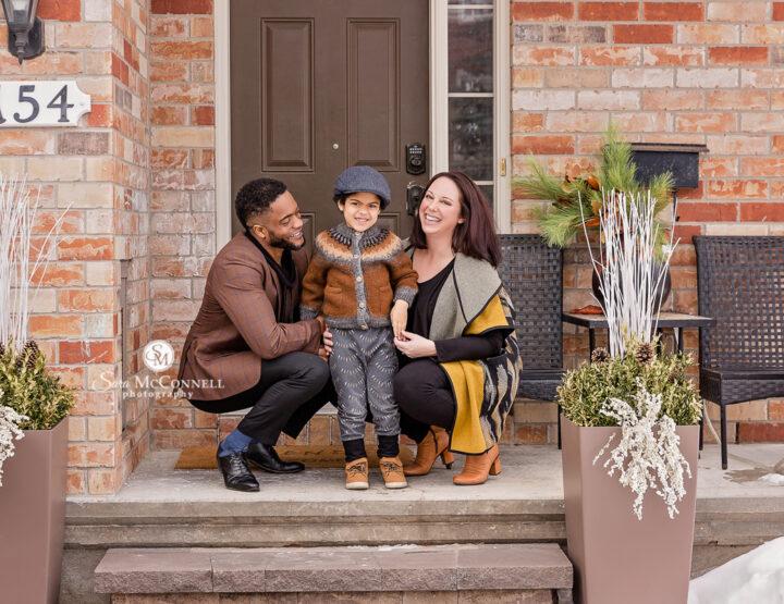 Front Porch Photos | Ottawa Family Photo Session