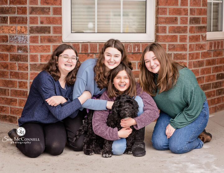 Four legged family member | Ottawa Family Photographer