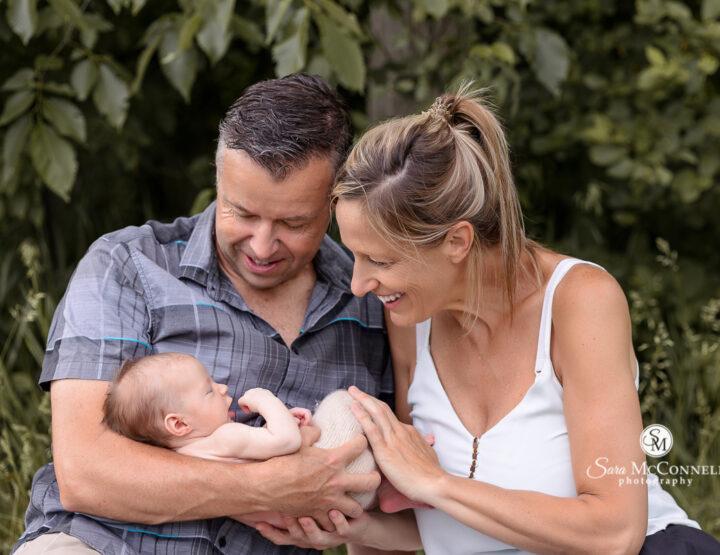 Just in time | Newborn Photos in Ottawa