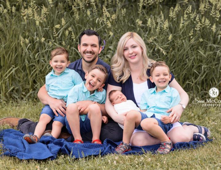 Fantastic Four | Ottawa Newborn Photos