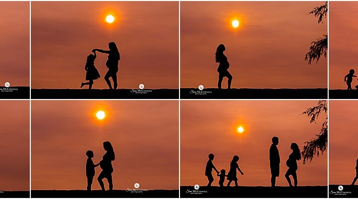 Playful Silhouettes | Barrhaven Family Photographer
