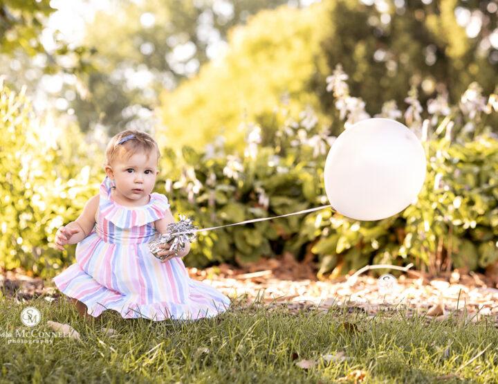 First Birthday at the Gardens | Ottawa Baby Photographer