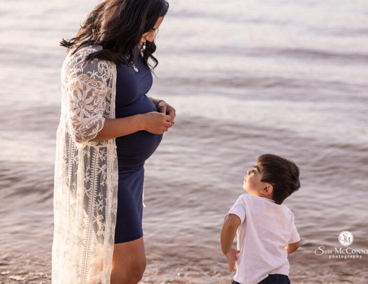 Maternity Photos at the Beach | Ottawa Photographer