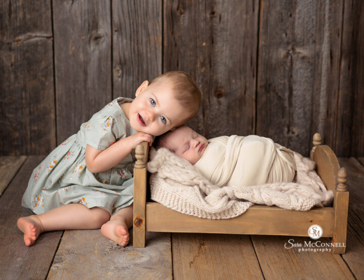 Two Under Two | Orleans Newborn Photographer